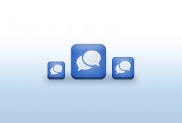 İos Mesajlaşma ikonu