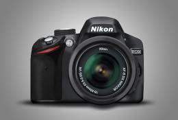 Nikon D3200 PSD