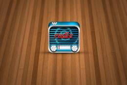 3D Radyo İkonu
