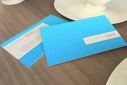 Mavi Psd Kartvizit Şablonu