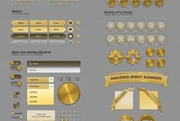 Güneş Web UI Elemanları Seti