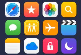 36 Apple Apps Vector İcon