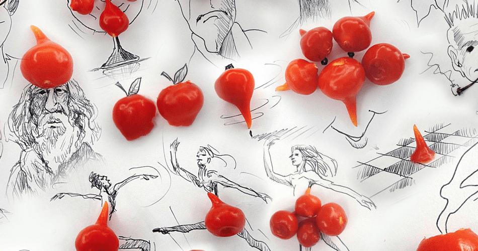 Victor Nunes tarafından Gündelik Nesneler ile Hayali Çizimler Serisi
