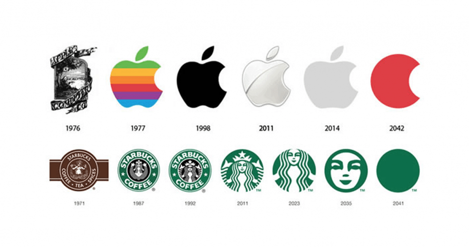 25 Ünlü Şirketin Logo Yıllara Göre Logo Evrimi