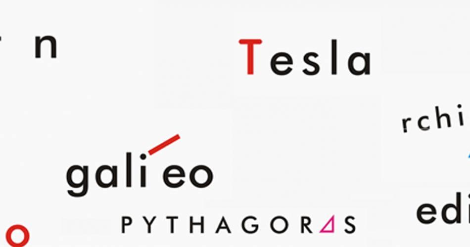 Meşhur Bilim Adamlarının İsimlerinden Tipografik Poster Çalışmaları