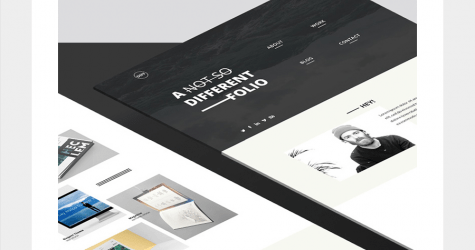 DIFF – Free Landing Page Template