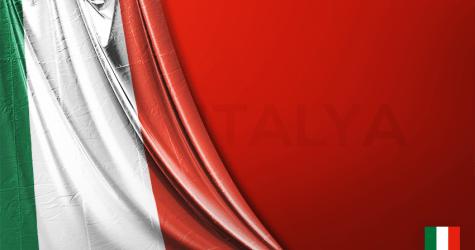 İtalya Vektörel Bayrağı