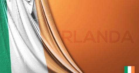 İrlanda Vektörel Bayrağı