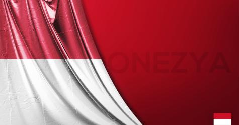 Endonezya Vektörel Bayrağı