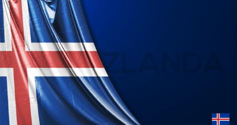 İzlanda Vektörel Bayrağı