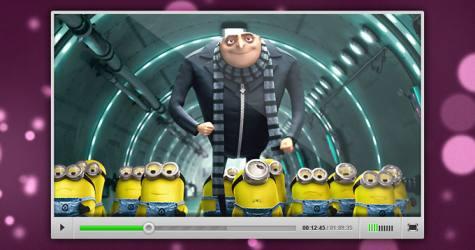 Video Player Arayüz Teması