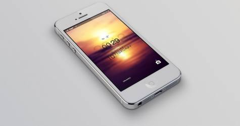 İphone 4s Mockup