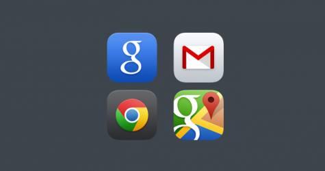 Google ios 7 Uygulama İkonları