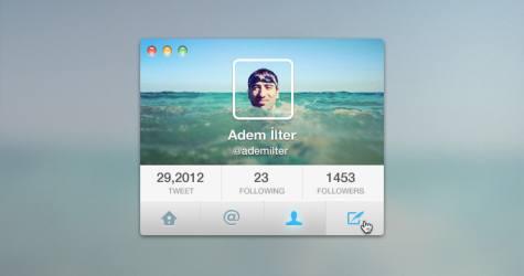 Twitter Arayüz Kiti