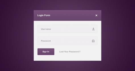 Mor Kullanıcı Kayıt Formu