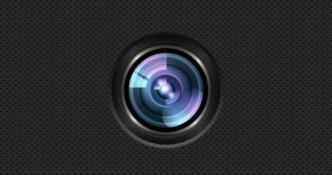 Kreatif Kamera Lens PSD
