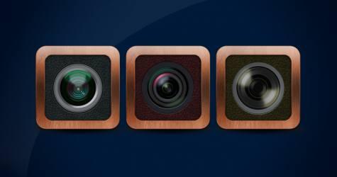 Kamera Uygulama İkonu Vol 2