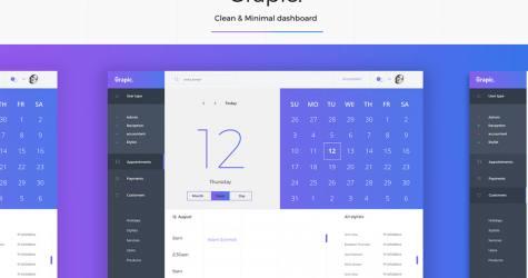 Grapic – Free Dashboard UI