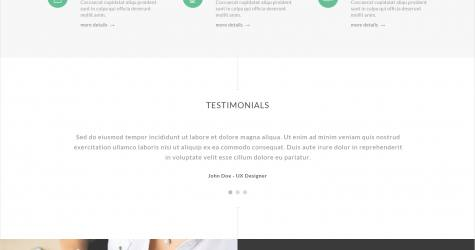 Crafty Website Teması