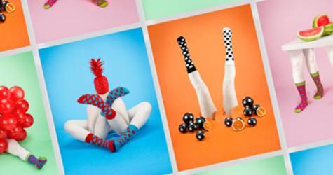 Odd Pears' İsimli Çorap Firmasının Sürrealist Afiş Çalışmaları.