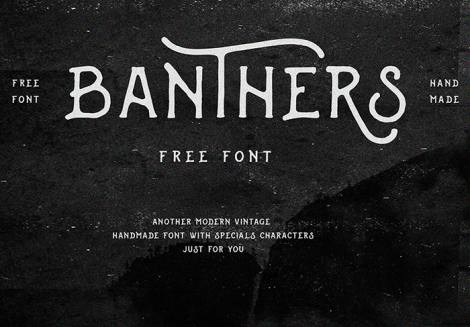 Banthers Font