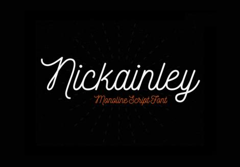Nickainley Font