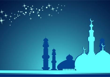 Ramazan Ayı Arkaplan Vektörü