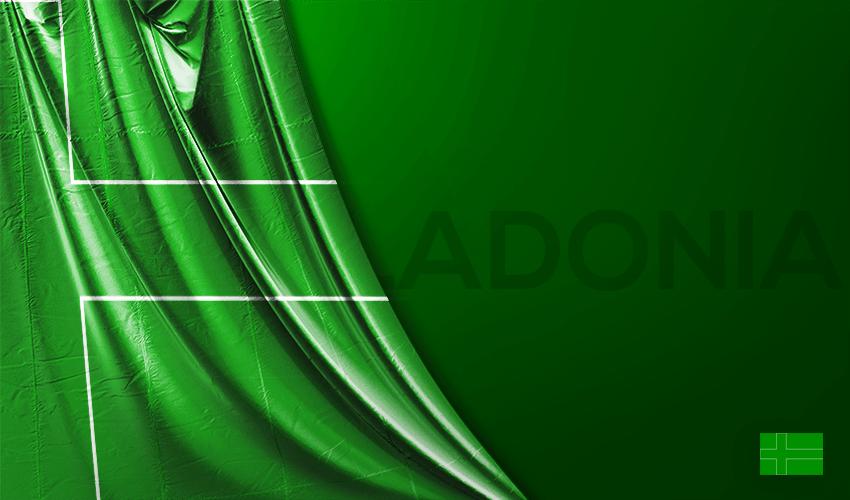 Vektörel Ladonia Bayrağı