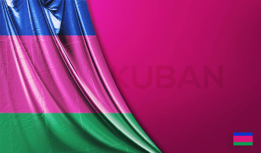 Kuban Halk Cumhuriyeti Vektörel Bayrağı
