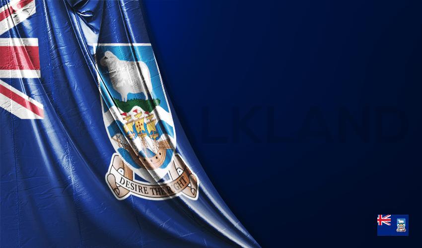 Falkland Adaları Vektörel Bayrağı