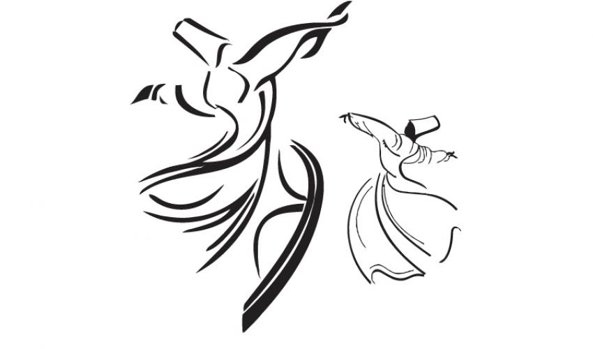 Semazen Silüeti 2