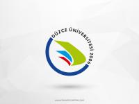 Düzce Üniversitesi Vektörel Logosu