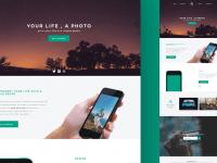 PhotoTime Landing Page