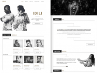 Idili – Models Agency Template