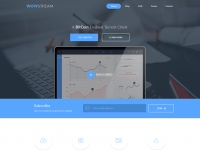 WOWStream Landing Page