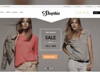 Shophia Ecommerce Template