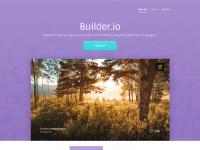 Builder Landing Page