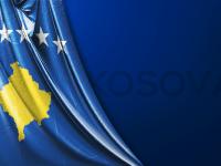 Vektörel Kosova Bayrağı