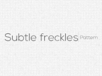 Subtle freckles