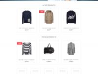 PSD E-Ticaret Website Teması