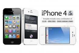 İphone 4s Mockup Vol 2