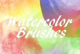 24 Watercolor Brushes