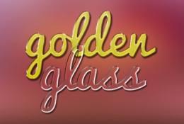 altın sarısı yazı stili