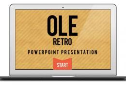 Retro Powerpoint Teması