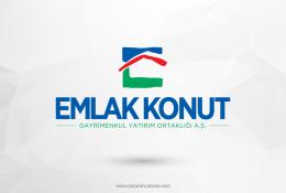 Emlak Konut Vektörel Logosu