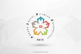 Ankara Sosyal Bilimler Üniversitesi Vektörel Logosu