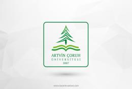 Artvin Çoruh Üniversitesi Vektörel Logosu