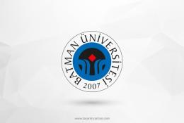 Batman Üniversitesi Vektörel Logosu