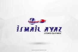 İsmail Ayaz Otobüs İşletmesi Vektörel Logo