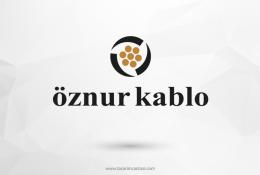 Öznur Kablo Vektörel Logosu